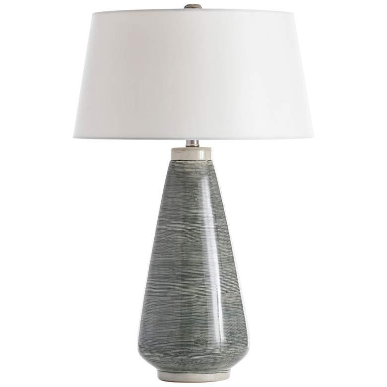 Arteriors Home Hazle Smoke Pine Ceramic Table Lamp
