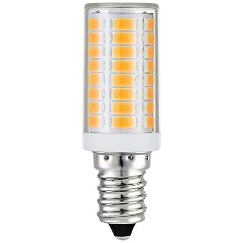 40W Equivalent Clear 4W LED Dimmable Candelabra Tube Bulb