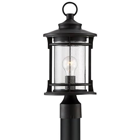 """Grenville 17 1/2"""" High Black Post Light"""
