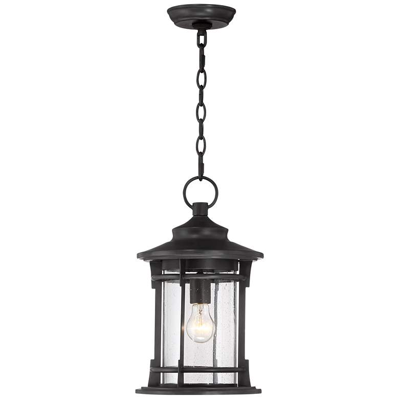"Grenville 16 3/4"" High Bronze Outdoor Hanging Light"
