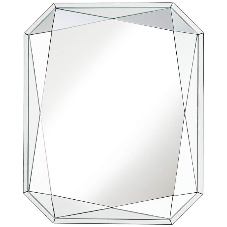 "Vasto Emerald Cut 26 1/4"" x 32 1/2"" Wall Mirror"