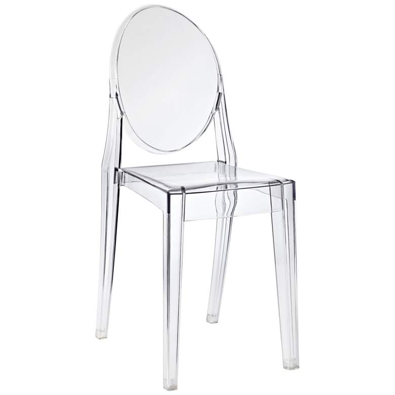 Casper Clear Outdoor Dining Chair