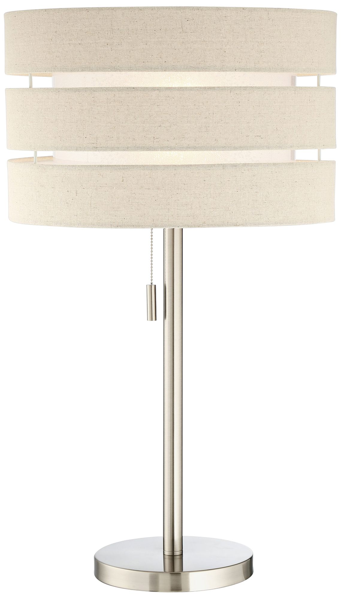 Lite Source Falan Brushed Nickel Table Lamp