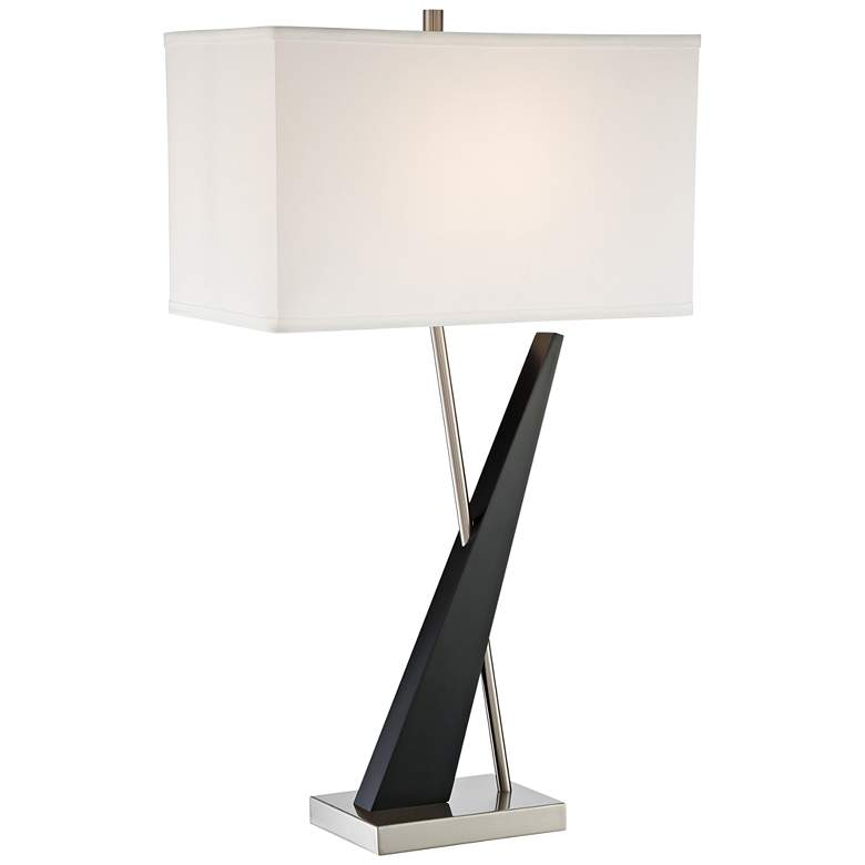 Lite Source Viggo Dark Walnut Table Lamp