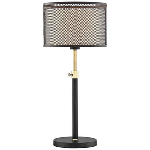 Lite Source Elena Coffee Metal Table Lamp