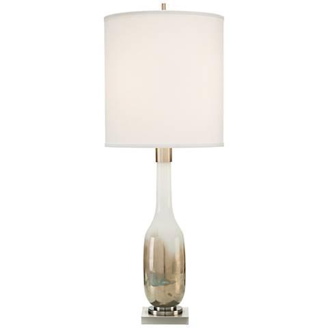 John Richard Regan Hand-Blown Golden Glass Table Lamp