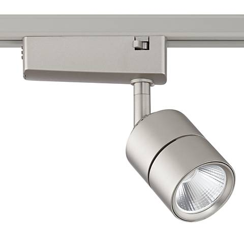 Linder Brushed Nickel LED Track Head for Juno Track Systems