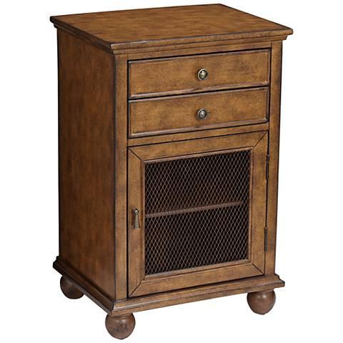 Alton Antique Java Storage Cabinet