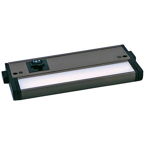 "CounterMax MX-L-120-3K 6"" W Bronze LED Undercabinet Light"