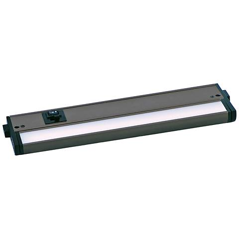 "CounterMax MX-L-120-3K 12"" W Bronze LED Undercabinet Light"