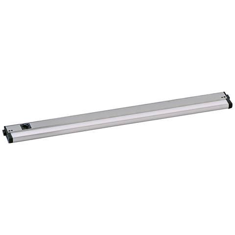 "CounterMax MX-L-120-3K 30"" W Satin Nickel LED Undercabinet Light"