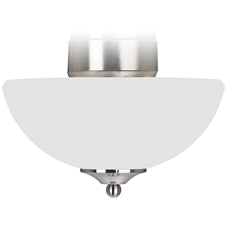 Alabaster Glass Pull Chain Energy Star Fan LED