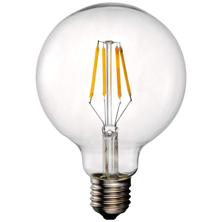 40W Equivalent Tesler Clear 4W LED Dimmable Standard G25
