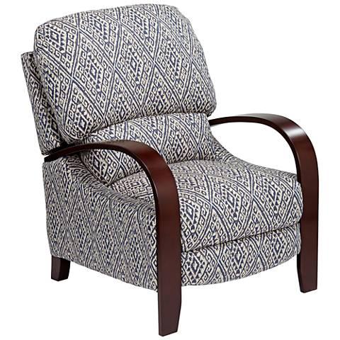 Cooper Sweet Water Indigo 3-Way Recliner Chair