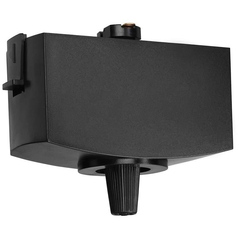 Juno Black Pendant Light to Track Adaptor