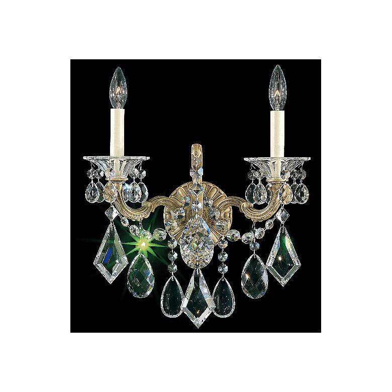 Schonbek La Scala Collection Two Light Wall Sconce