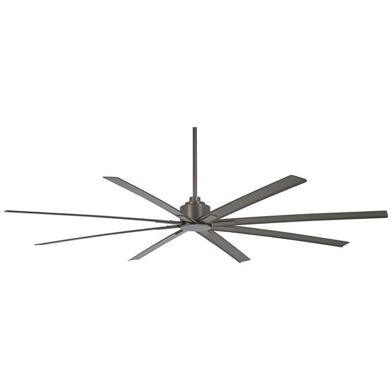 """84"""" Minka Aire Xtreme H2O Smoked Iron Wet Ceiling Fan"""