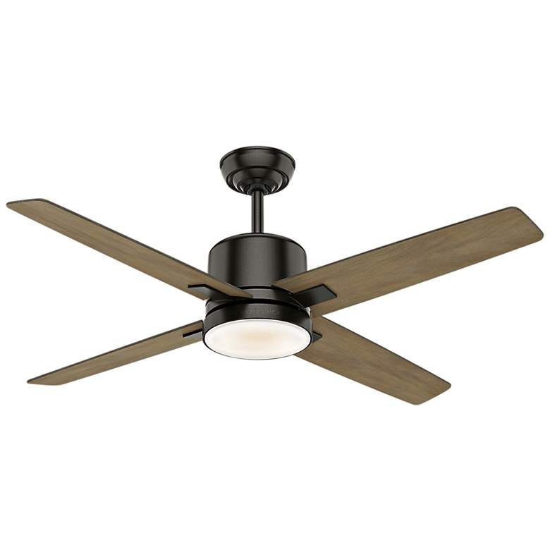 "52"" Casablanca Axial Noble Bronze LED Ceiling Fan"