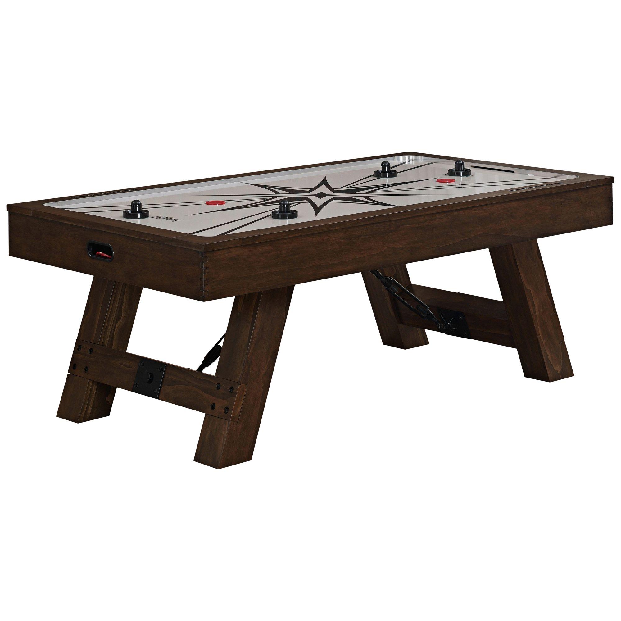 Incroyable American Heritage Savannah Wood Air Hockey Table