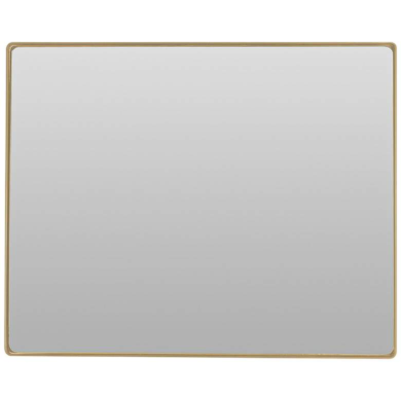 "Varaluz Casa Jonah Gold 30"" x 24"" Wall Mirror"