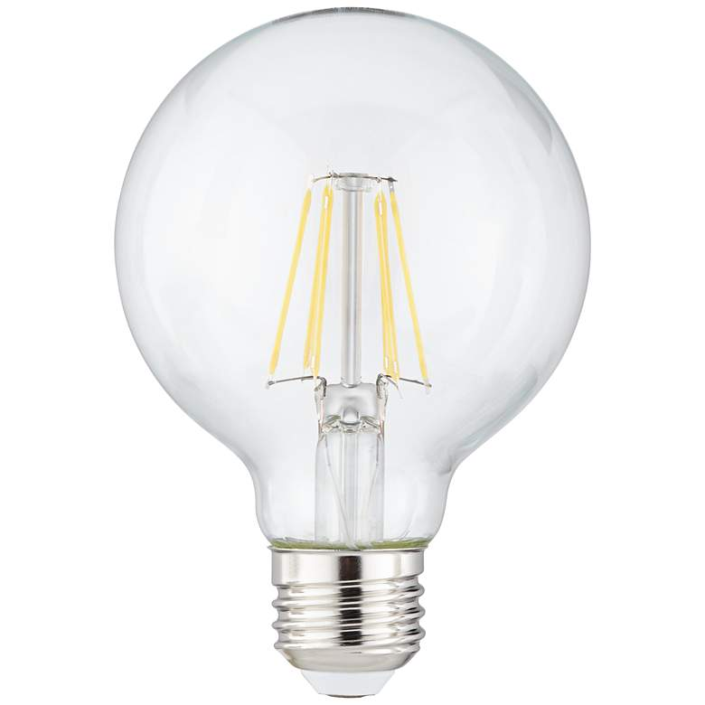 60W Equivalent Tesler Clear 8W LED Dimmable Standard G25