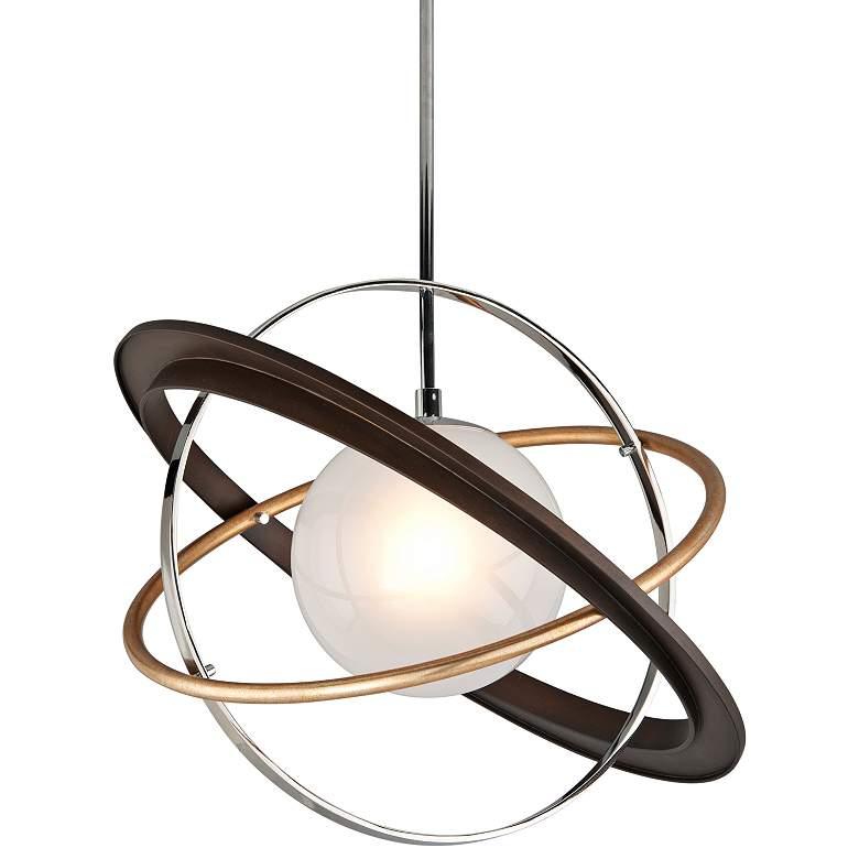 "Apogee 24"" Wide Bronze LED Pendant Light"