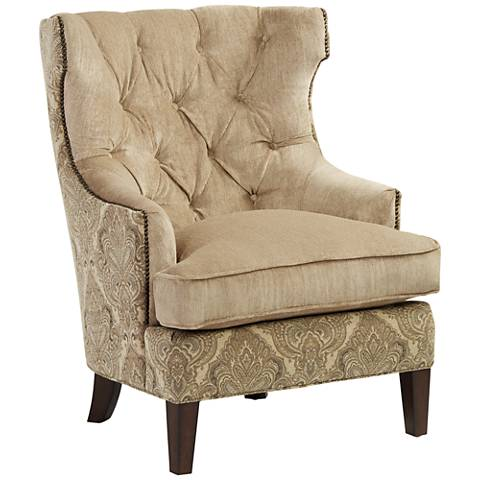 Reese Studio Fex Canyon High-Back Accent Chair