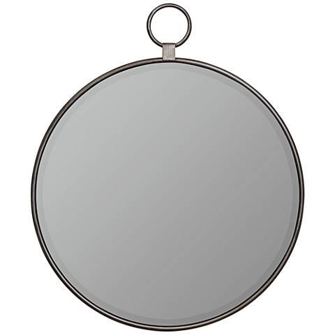 """Cooper Classics Vivian Gray 30 1/2"""" x 35 1/2"""" Wall Mirror"""