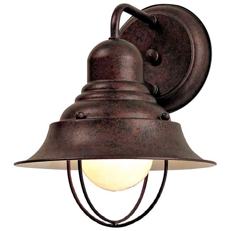 """Wyndmere Collection Antique Bronze 10 1/4"""" High Wall Light"""