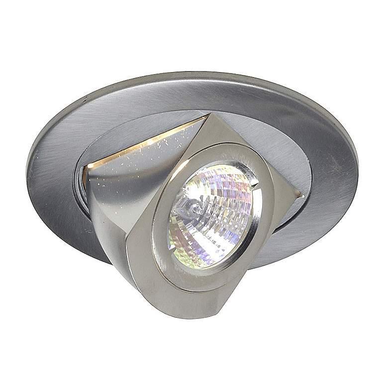 """Juno 4"""" Low Voltage Chrome Adjustable Recessed Light Trim"""