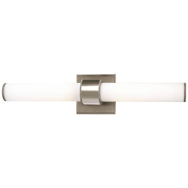 "Hudson Valley Mill Valley 20""W Polished Nickel Bath Light"