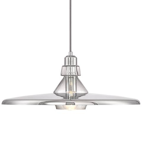 "Eurofase Legend 19 1/4"" Wide Chrome Pendant Light"