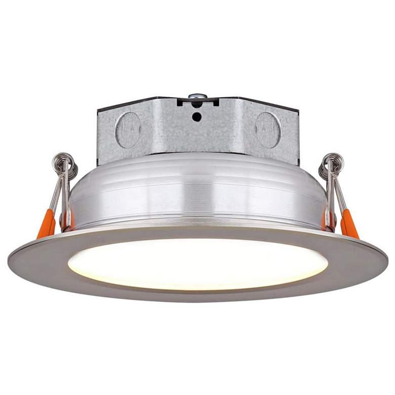 "Veloce 3 1/2"" Nickel LED Retrofit Downlight"