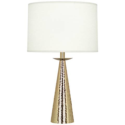 Robert Abbey Dal Modern Brass Accent Table Lamp