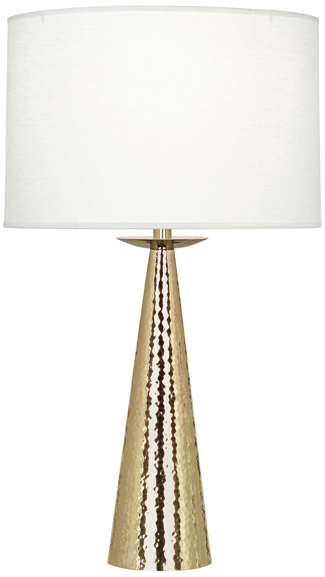 Robert abbey dal modern brass table lamp