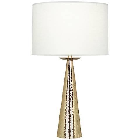 Robert Abbey Dal Modern Brass Table Lamp
