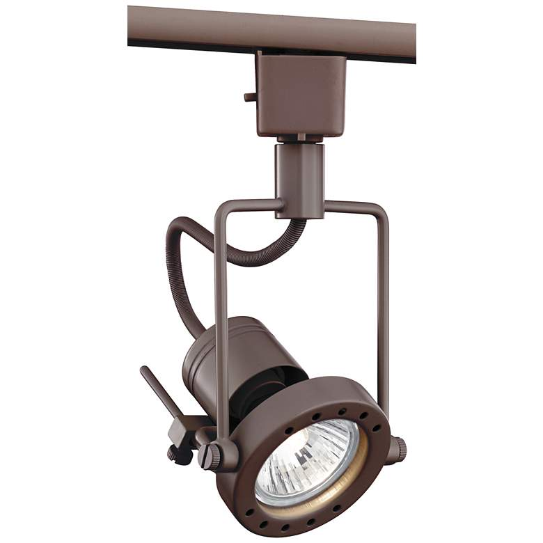 Bronze GU10 50-Watt Halogen European Style Track Light