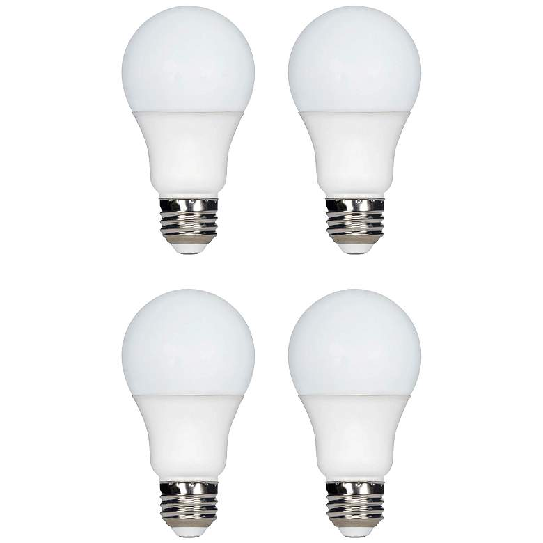 60W Equivalent Tesler 9W LED Dimmable Standard 4-Pack
