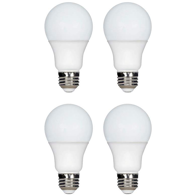 100W Equivalent Tesler 15W LED Dimmable Standard 4-Pack