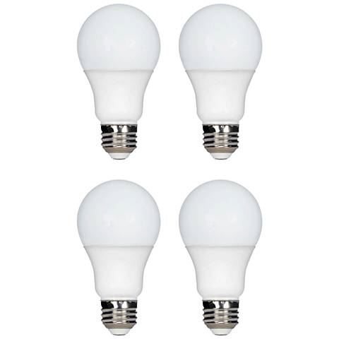 100W Equivalent Tesler 16W LED Dimmable Standard 4-Pack A19
