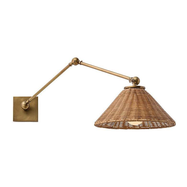 Arteriors Home Padma Antique Brass Wall Lamp