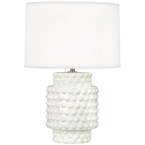 Robert Abbey Dolly Lily Ceramic Accent Table Lamp