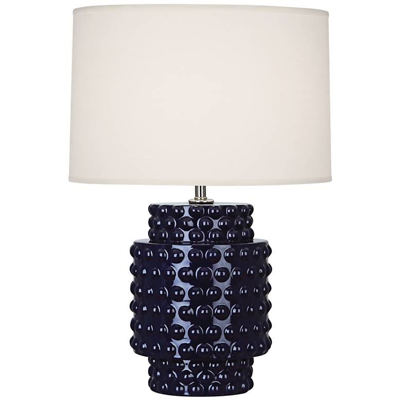Robert Abbey Dolly Midnight Blue Ceramic Accent Table Lamp