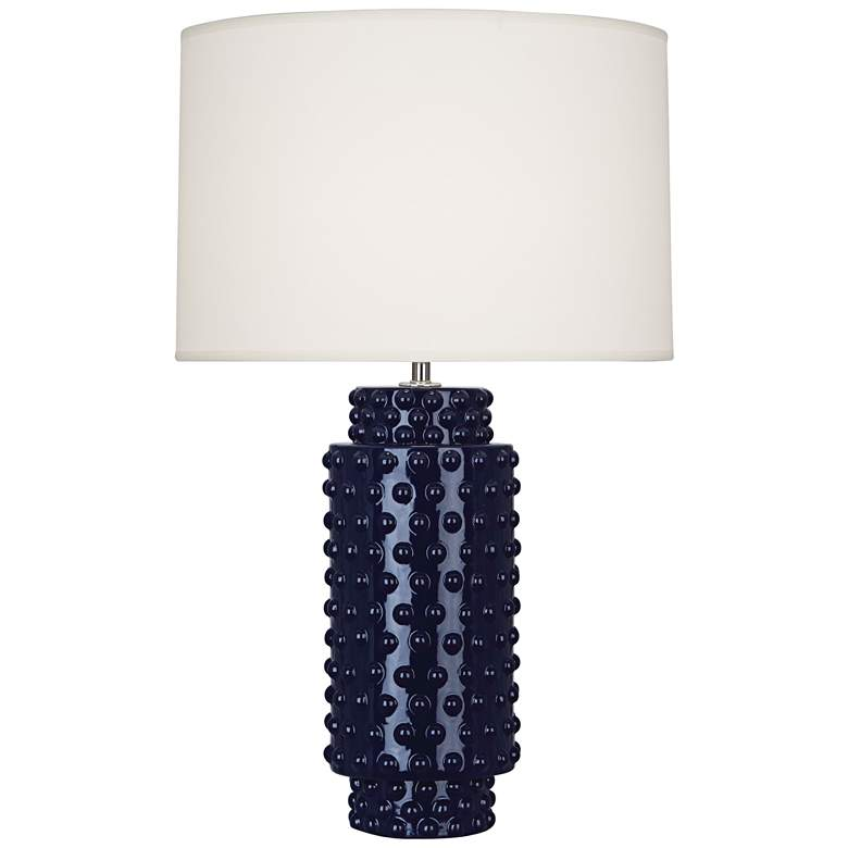 Robert Abbey Dolly Midnight Blue Ceramic Table Lamp
