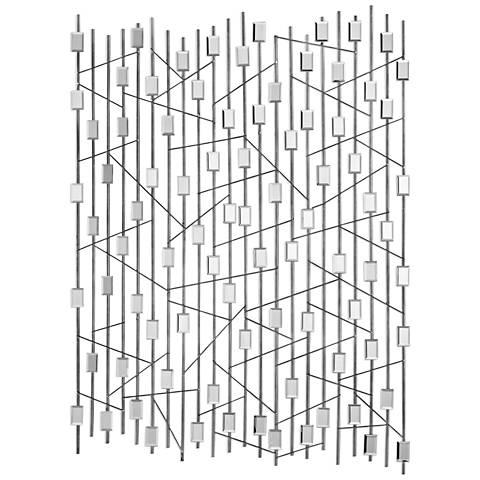 """Uttermost Iker 47"""" High Metal Wall Art"""