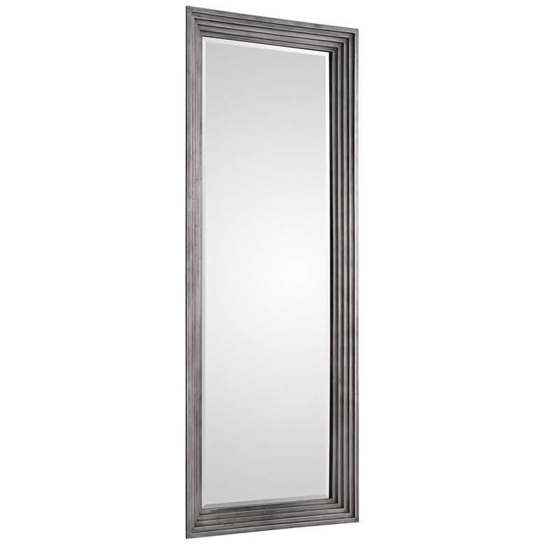 "Uttermost Dario Silver 30 1/2"" x 78 1/2"" Wall Mirror"