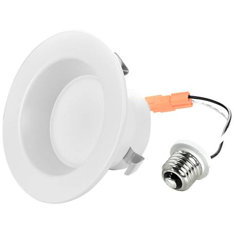 "4"" Plain 10W LED 650 Lumen Dimmable Retrofit Trim"