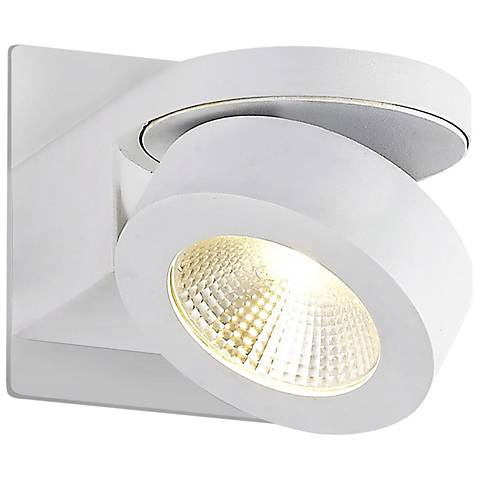 "Eurofase Acura 4 1/2"" High White LED Wall Sconce"