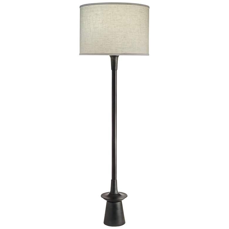 Stiffel Carson Converse Charcoal Floor Lamp