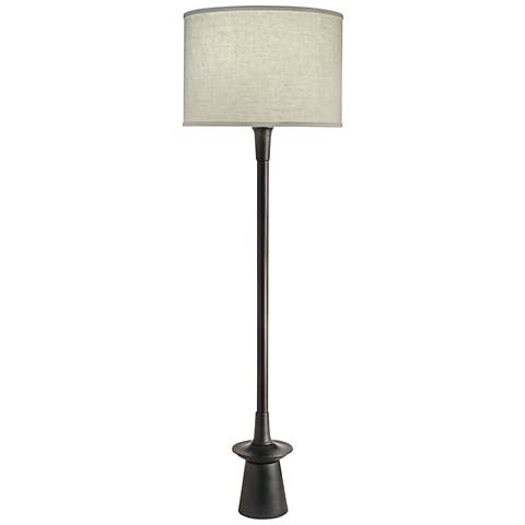 Stiffel Carson Converse Charcoal Floor Lamp